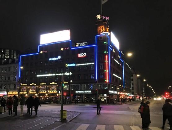 Copenhague : baromètre géant